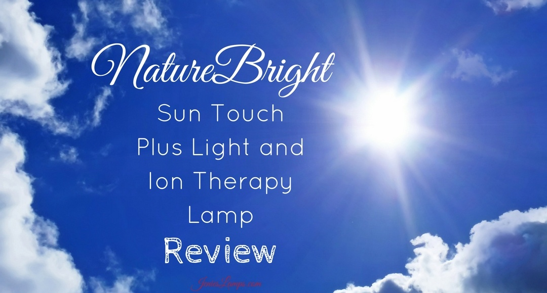 Naturebright Sun Touch Plus Light And Ion Therapy Lamp